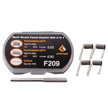 Geekvape Multi Strand Fused Clapton 2 In 1 Pack