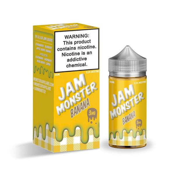 Jam Monster - Banana 100ml