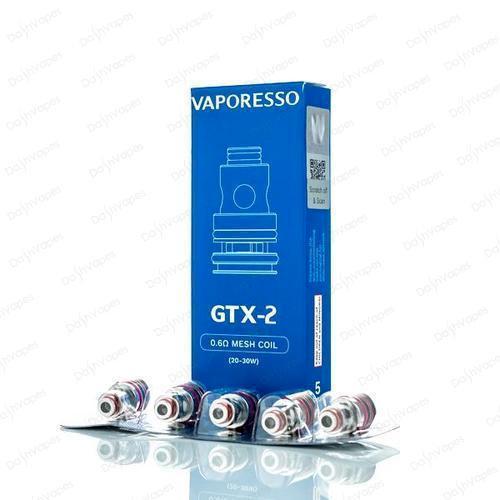 Vaporesso GTX-2 0.6ohm Mesh Coils - 5 Pack