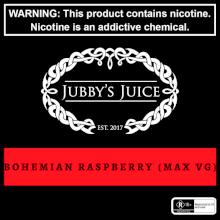 Jubbys Juice - Bohemian Raspberry - 30ml