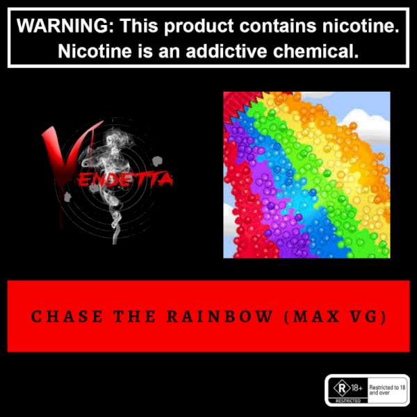 Vendetta Vape House Chase The Rainbow 60ml