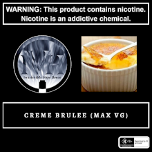 Vendetta Vape House Creme Brulee 60ml