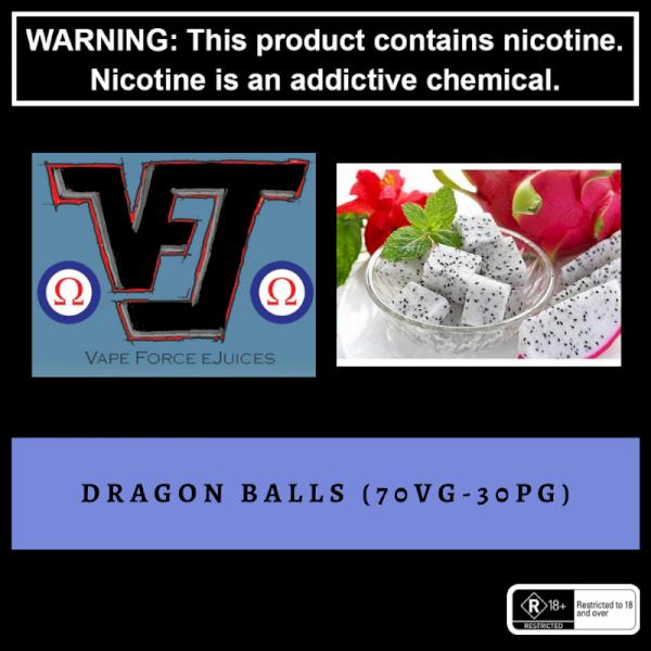 Vape Force Juices Dragon Balls - 60ml