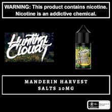 Hunting Clouds - Mandarin Harvest Salts 20mg