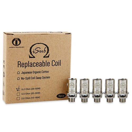 Innokin ISub 0.2ohm Kanthal BVC Coils - 5 Pack