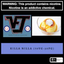 Vape Force Juices Killa Nilla - 60ml