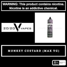 2020 Vapes Monkey Custard 60ml