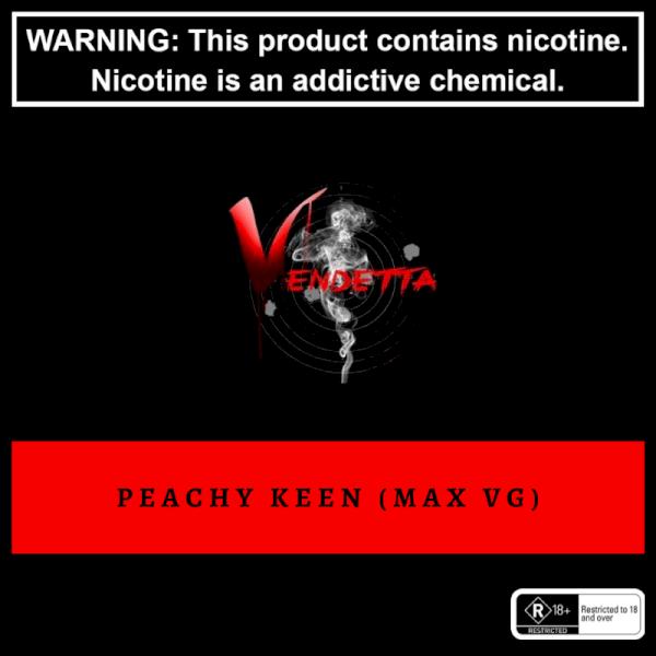 Vendetta Vape House Peachy Keen 60ml