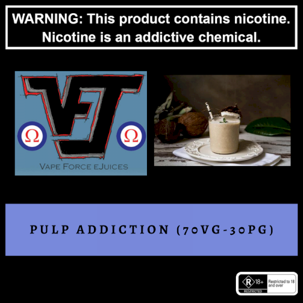 Vape Force Juices Pulp Addiction - 60ml