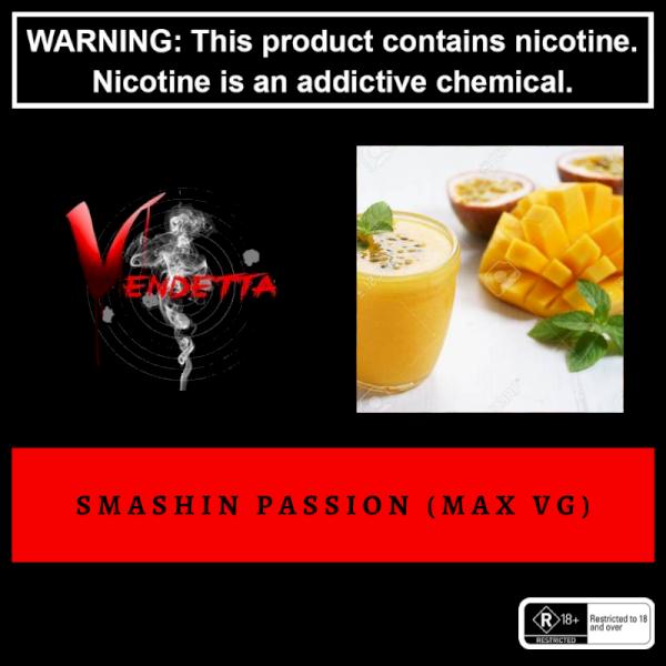 Vendetta Vape House Smashin Passion 60ml