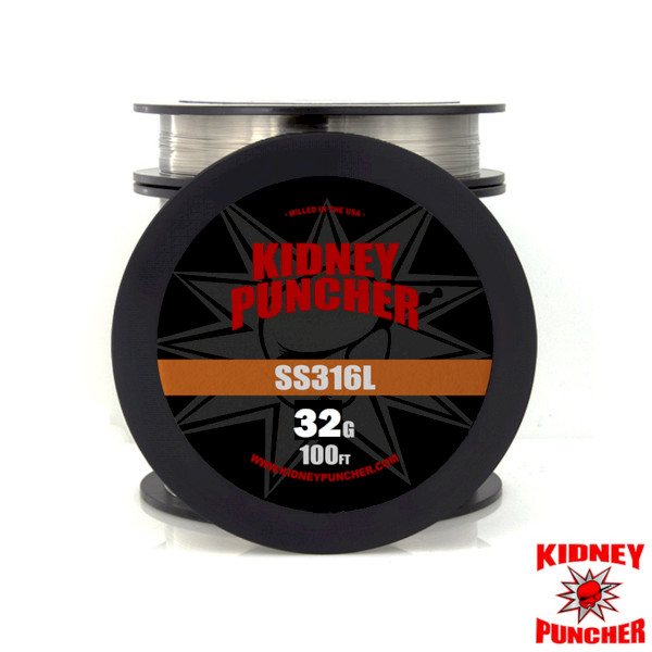 Kidney Puncher SS316L Wire 30ft Spool - 32G