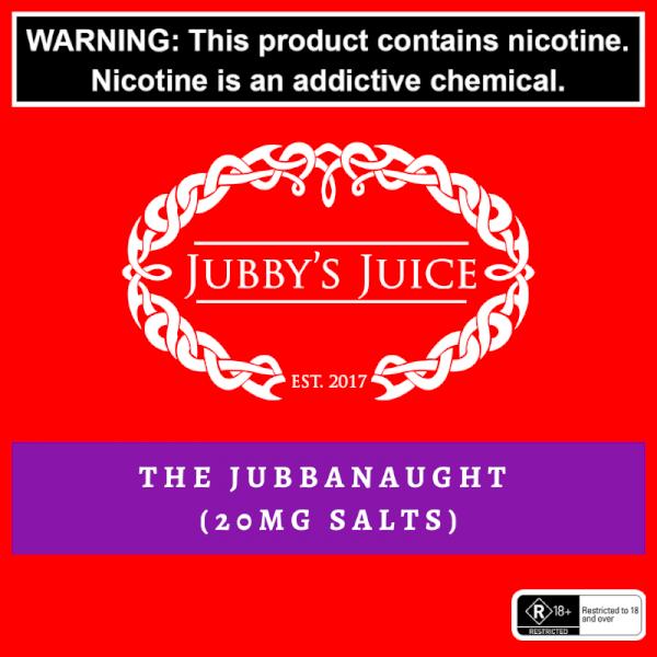 Jubbys Juice - The Jubbanaught Salts 30ml - 20mg