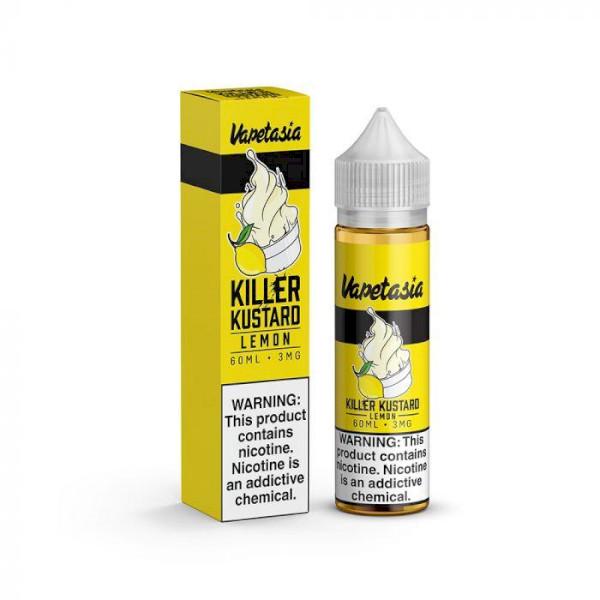 Vapetasia Killer Kustard Lemon 60ml - 0mg