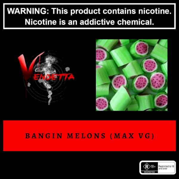 Vendetta Vape House - Bangin Melons 60ml