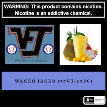 Vape Force Juices Wacko Jacko 60ml