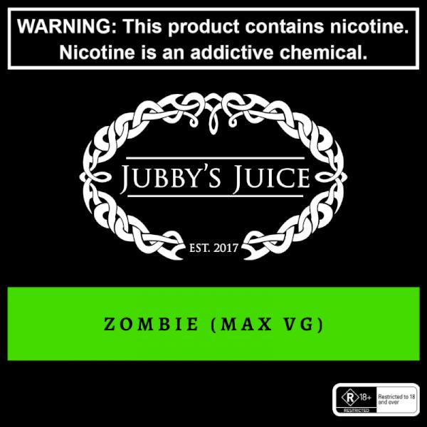 Jubbys Juice - Zombie - 120ml