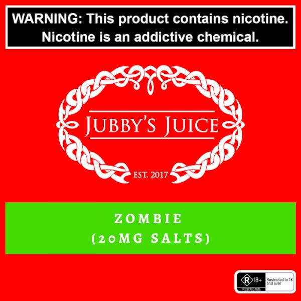 Jubbys Juice - Zombie Salts 30ml 20mg