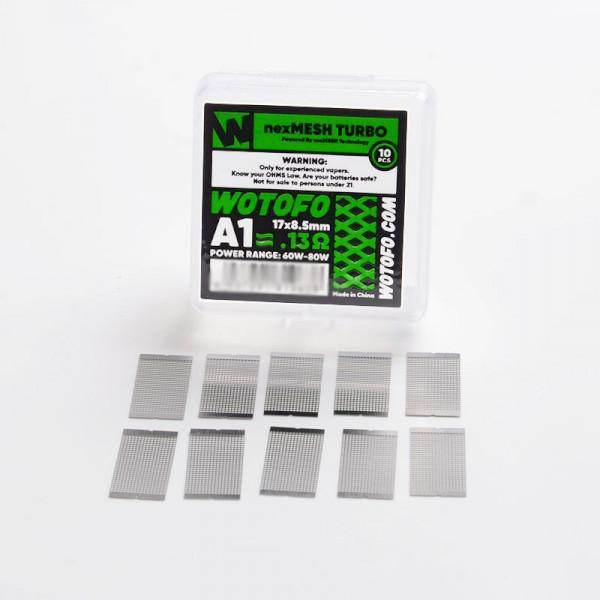 Wotofo NexMesh A1 Coil Turbo 0.13ohm - 10 Pack