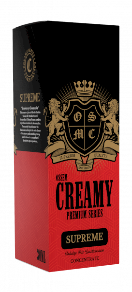 Ossem Supreme (Strawberry Cheesecake) Salts 30ml - 35mg