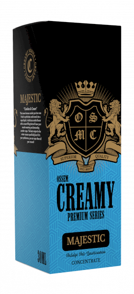 Ossem Majestic (Cookies And Cream) Salts 30ml - 35mg