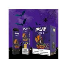 IPLAY 3 In 1 Disposable Pod (3000 Puffs) - Blue Raz Lemon 50mg