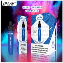 IPLAY Vino Plus Disposable Pod (1000 Puffs) - Mixed Berries 50mg