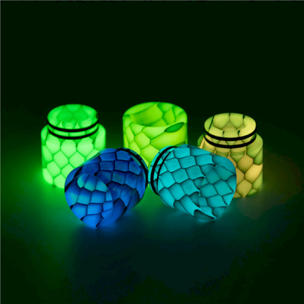 Aleader AS249Y Honeycomb 810 Drip Tip With Night Luminous
