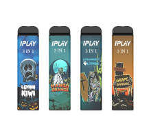IPLAY 3 In 1 Disposable Pod (3000 Puffs)