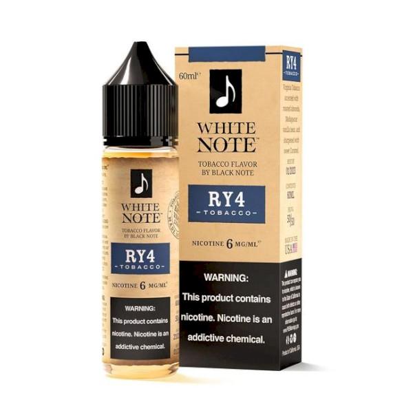 White Note RY4 Tobacco 60ml