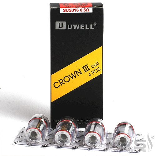 Uwell Crown III Coil 0.5ohm - 4 Pack