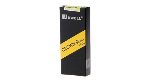 Uwell Crown III Coil 0.25ohm - 4 Pack