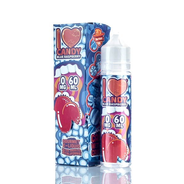 Mad Hatter I Love Candy - Blue Raspberry 60ml