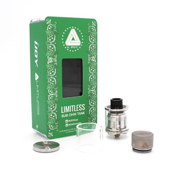 IJOY Limitless Sub Ohm Tank - Stainless Steel
