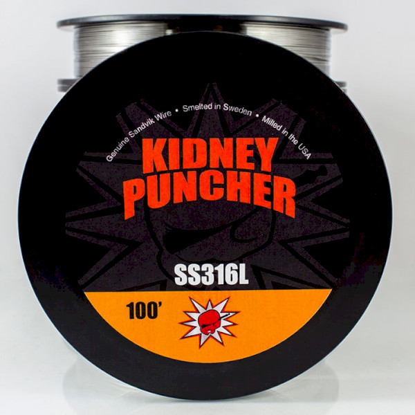 Kidney Puncher SS316L Wire 100ft Spool - 24G