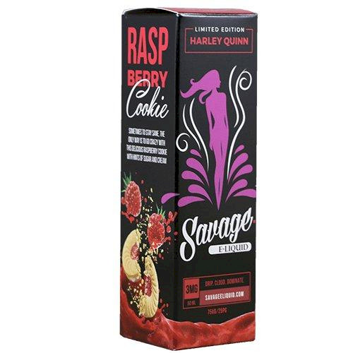 Savage Eliquid - Harley Quinn - Raspberry Cookie 60ml