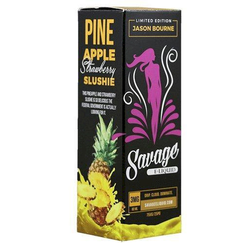 Savage Eliquid - Jason Bourne - Pineapple Strawberry Slushie 60ml