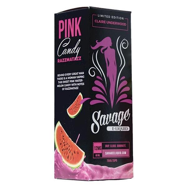 Savage Eliquid - C. Underwood - Pink Candy 60ml