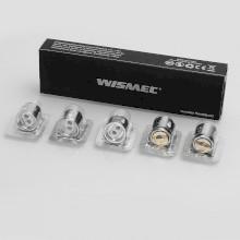 WISMEC WM02 Dual Coil 0.15ohm - 5 Pack