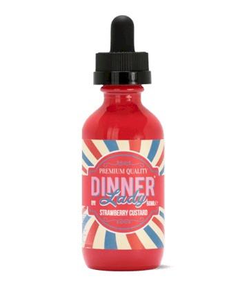 Dinner Lady-Strawberry Custard