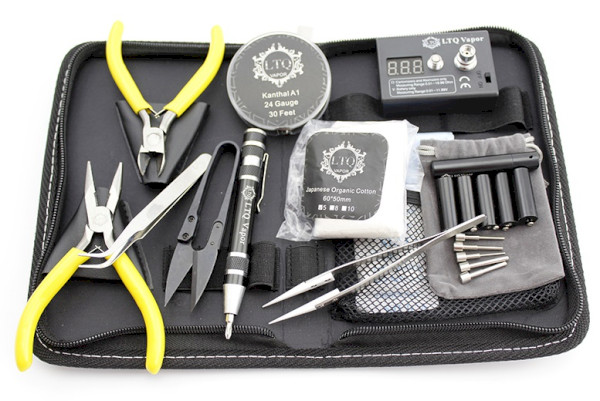 LTQ RBA/RDA Coil Full Tool Kit - Black
