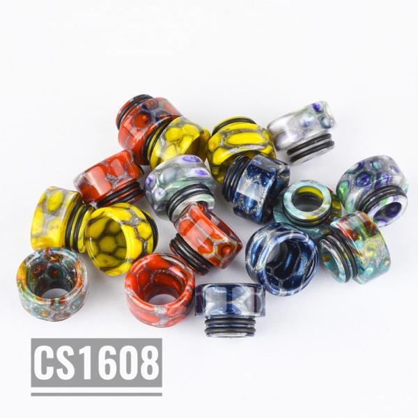 Vapjoy CS1608 810 Wide bored Resin Drip Tip - 5 Pack