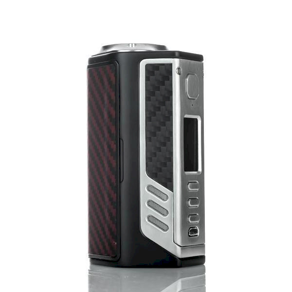 Lost Vape Triade DNA250C Mod 300W - Red Black/Kevlar Black Frame