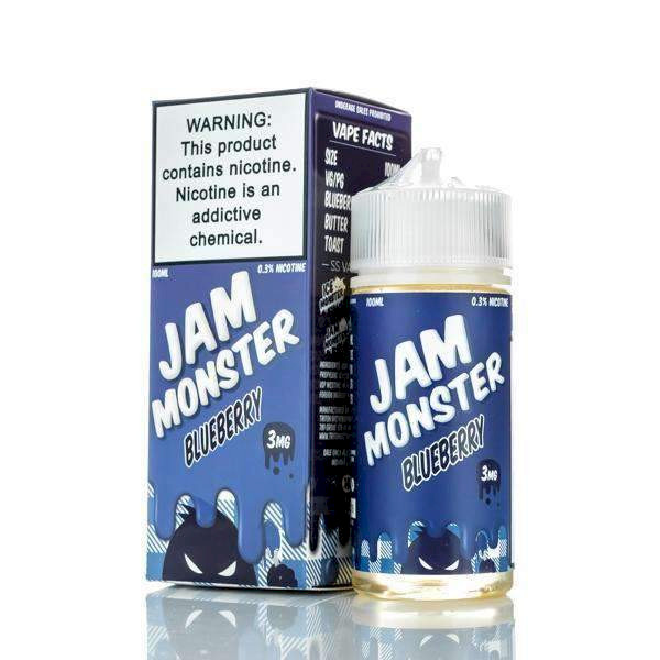 Blueberry Jam - Jam Monster 100ml