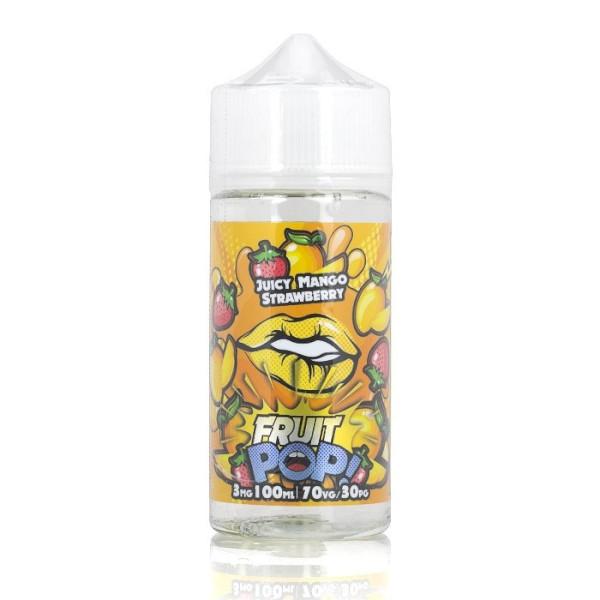 Juicy Mango Strawberry - Fruit Pop! E Liquid 100ml