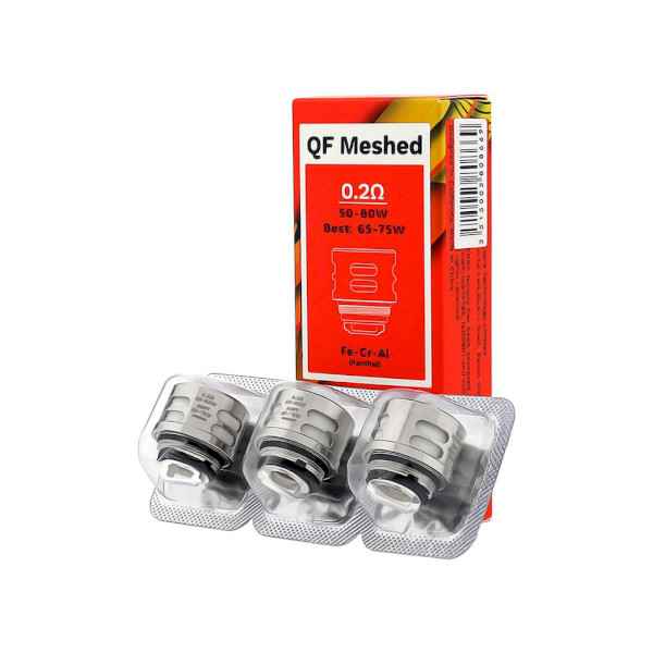 Vaporesso QF Mesh Coil 0.2ohm - 3 Pack