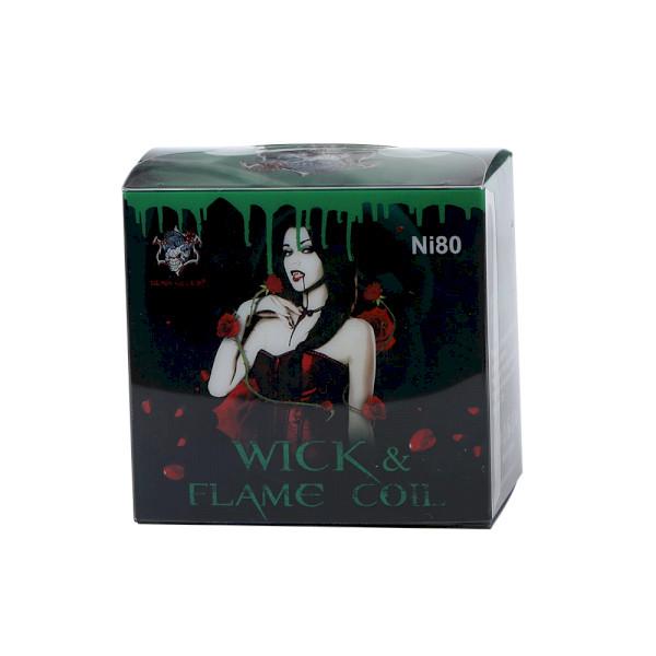 Demon Killer Wick & Flame Fire Coil Ni80 Wire