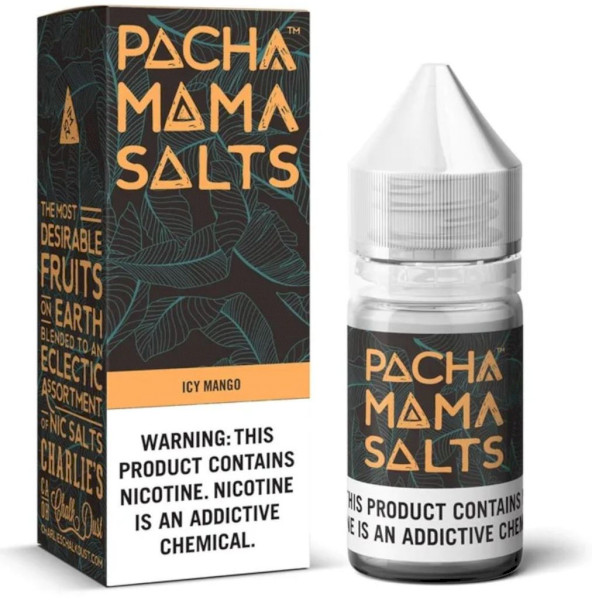 Charlies Pachamama Salts - Icy Mango 50mg