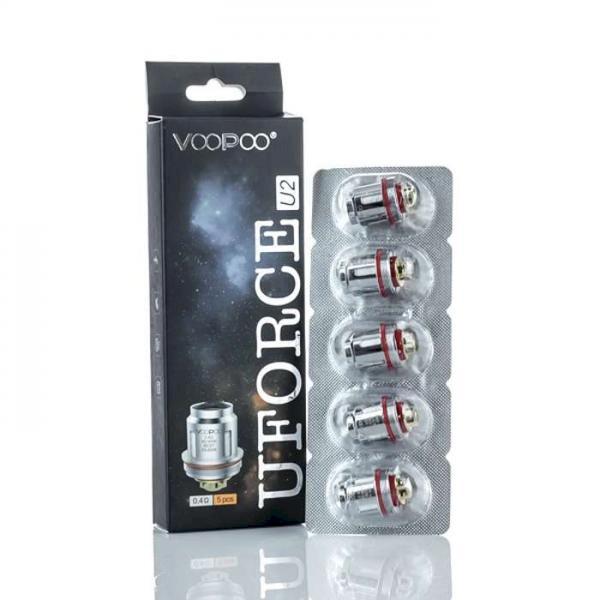 Voopoo Urforce U2 Coil 0.4ohm - 5 Pack