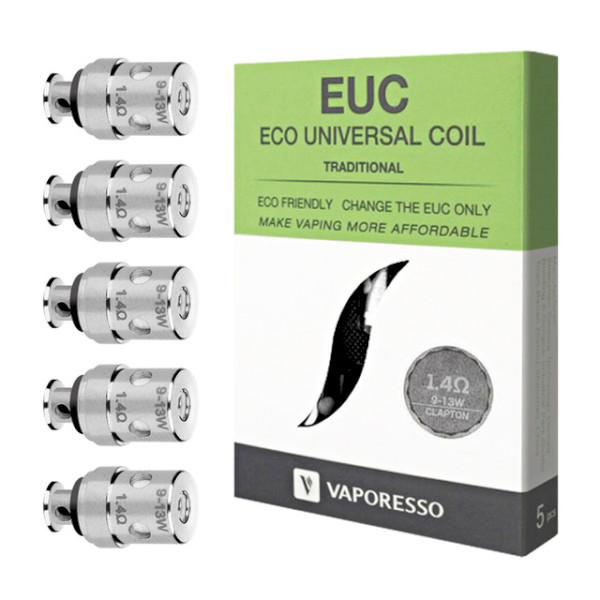 Vaporesso EUC Mini Traditional Coil 1.4ohm - 5 Pack