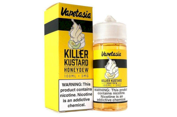 Vapetasia Killer Kustard - Honeydew  100ml